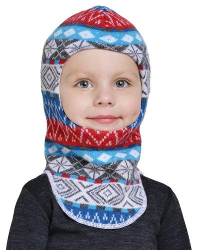 Шлем детский Helmet Jaquard Wool Norveg — фото 3