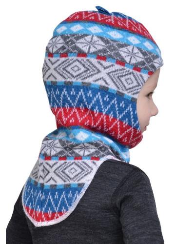 Шлем детский Helmet Jaquard Wool Norveg — фото 4