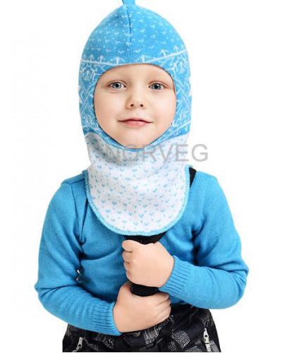 Шлем детский Helmet Jaquard Wool Norveg — фото 5