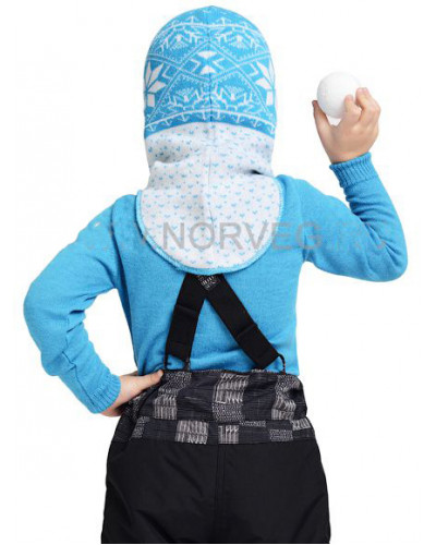 Шлем детский Helmet Jaquard Wool Norveg — фото 8