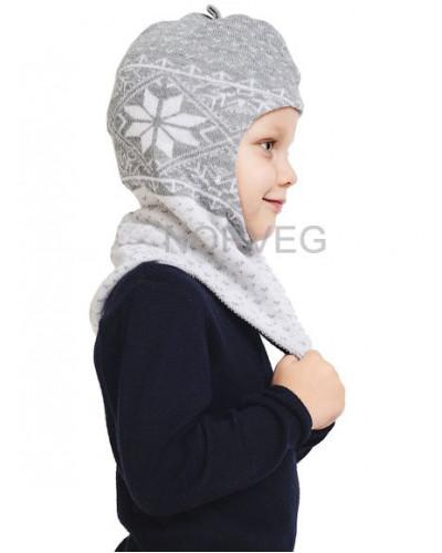 Шлем детский Helmet Jaquard Wool Norveg — фото 11