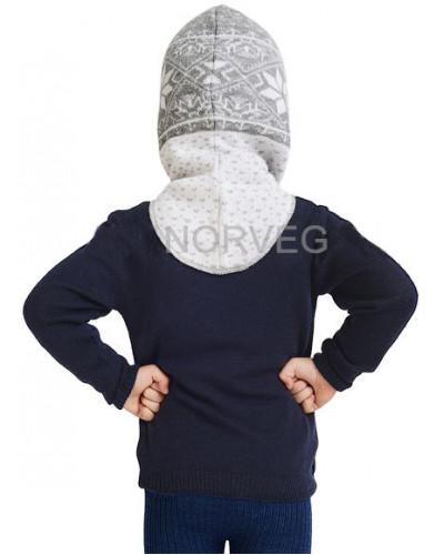 Шлем детский Helmet Jaquard Wool Norveg — фото 12