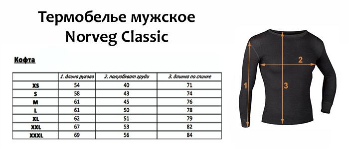 Футболка с длинным рукавом CLASSIC Norveg — фото 7