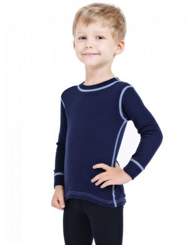 Футболка детская с длинным рукавом Soft Norveg — фото 2