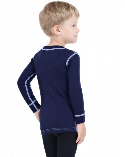 Футболка детская с длинным рукавом Soft Norveg — фото 3