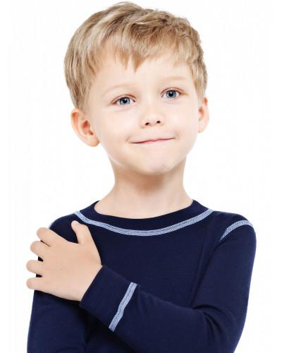 Футболка детская с длинным рукавом Soft Norveg — фото 4