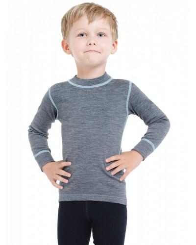 Футболка детская с длинным рукавом Soft Norveg — фото 6