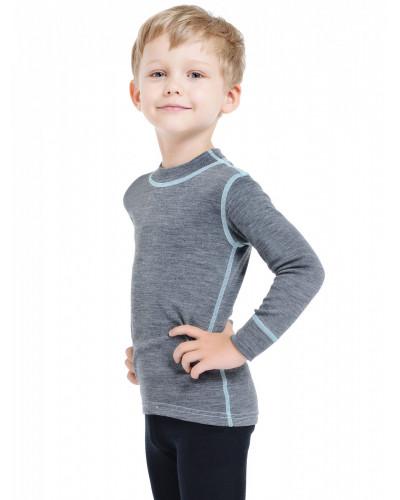 Футболка детская с длинным рукавом Soft Norveg — фото 7