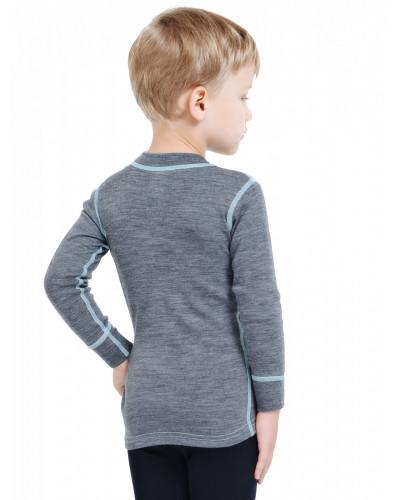 Футболка детская с длинным рукавом Soft Norveg — фото 8