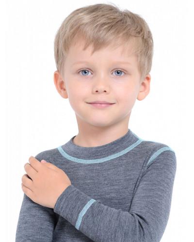 Футболка детская с длинным рукавом Soft Norveg — фото 9