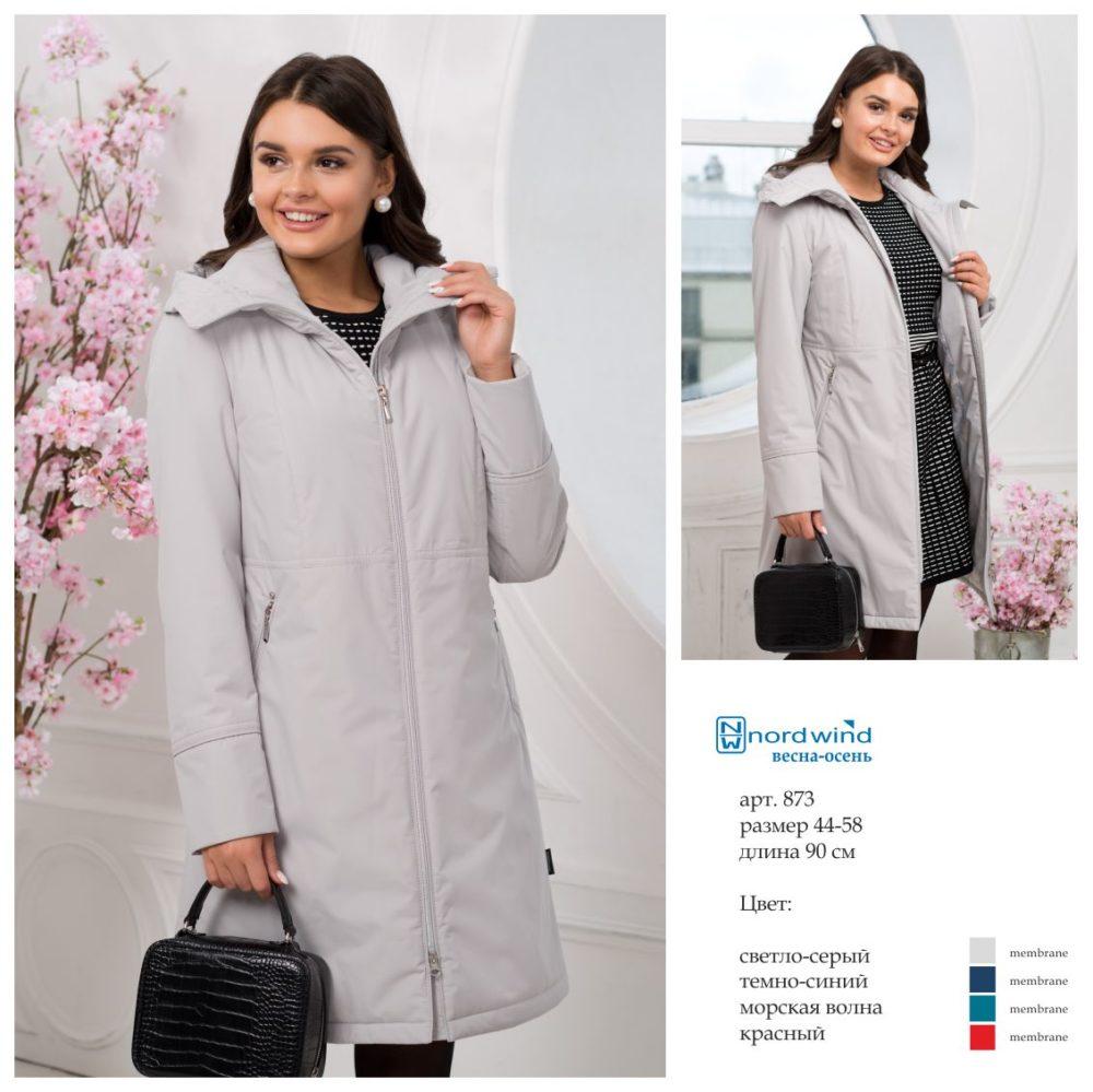 Пальто женское дс 873 Nord Wind — фото 3