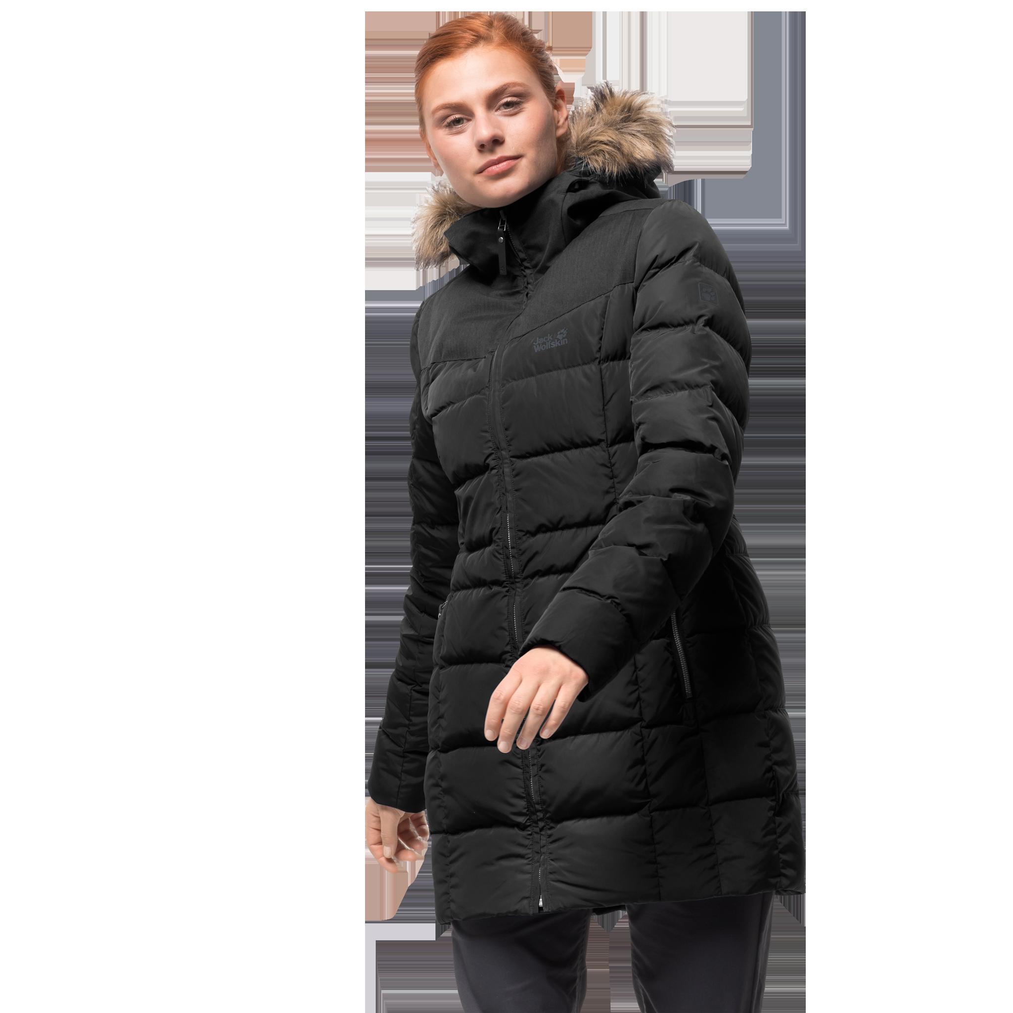 Куртка женская BAFFIN ISLAND COAT Jack Wolfskin — фото 2