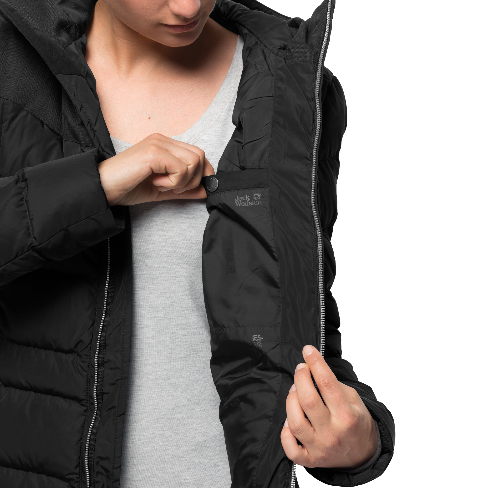 Куртка женская BAFFIN ISLAND COAT Jack Wolfskin — фото 5