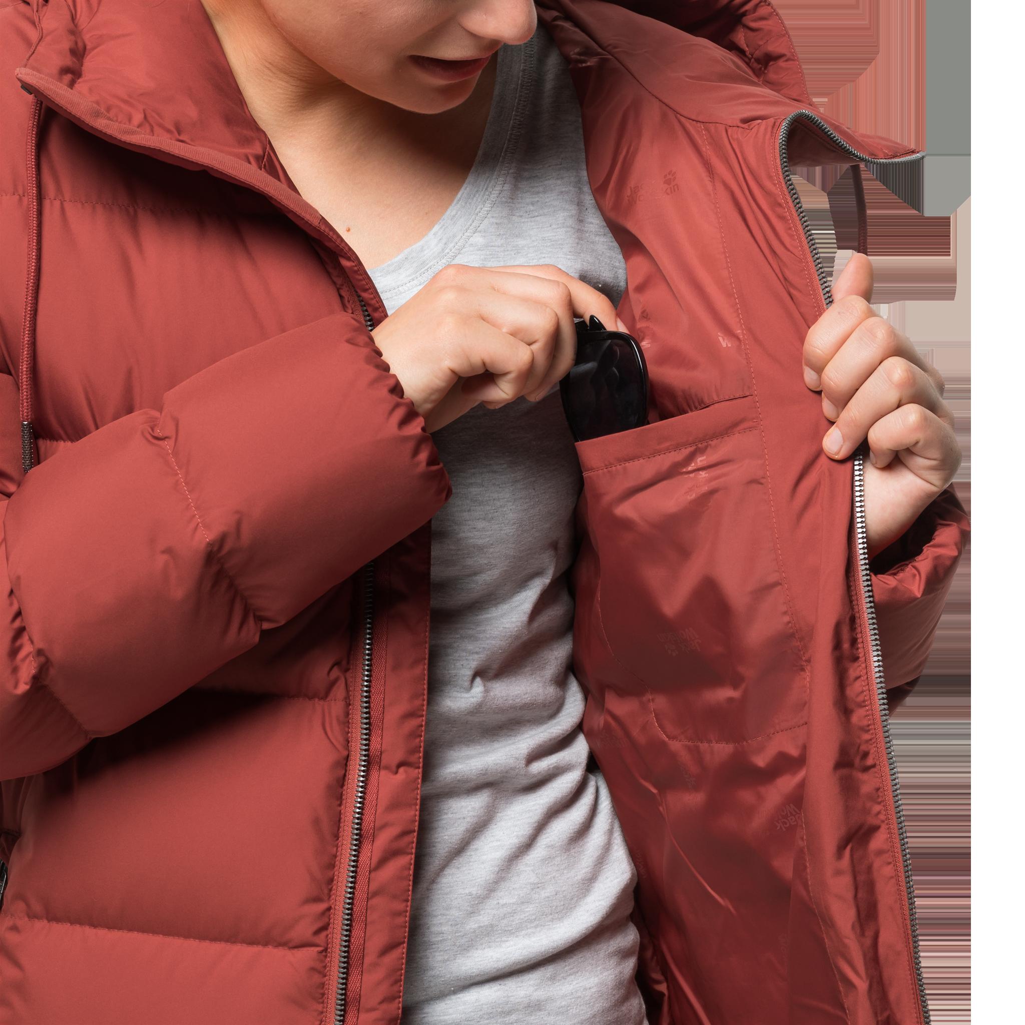 Куртка женская CRYSTAL PALACE COAT Jack Wolfskin — фото 9