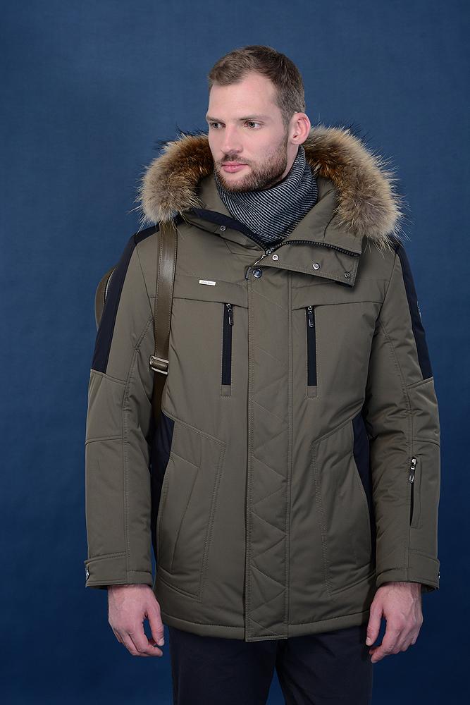 Куртка мужская зима 638Е AutoJack — фото 3