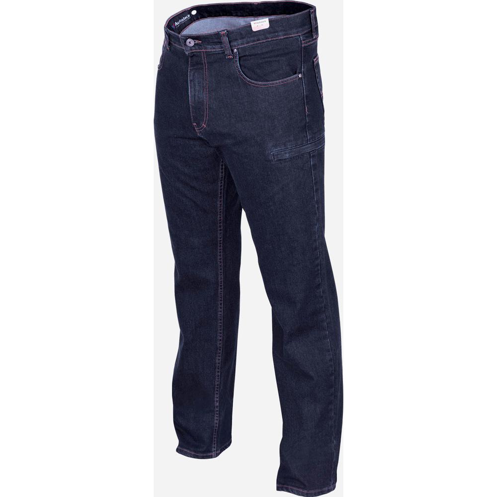 Брюки джинсовые мужские зима М044/1 AutoJack — фото 2