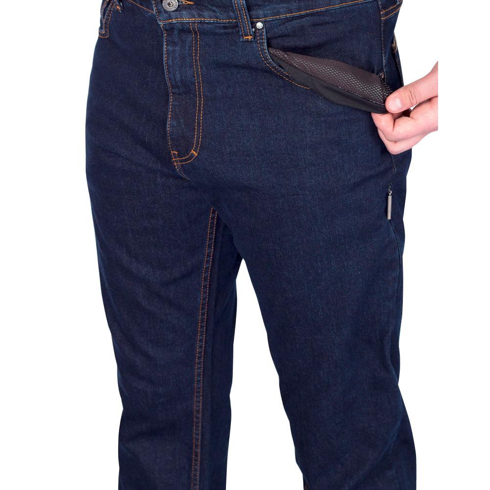 Брюки джинсовые мужские зима М044/1 AutoJack — фото 5
