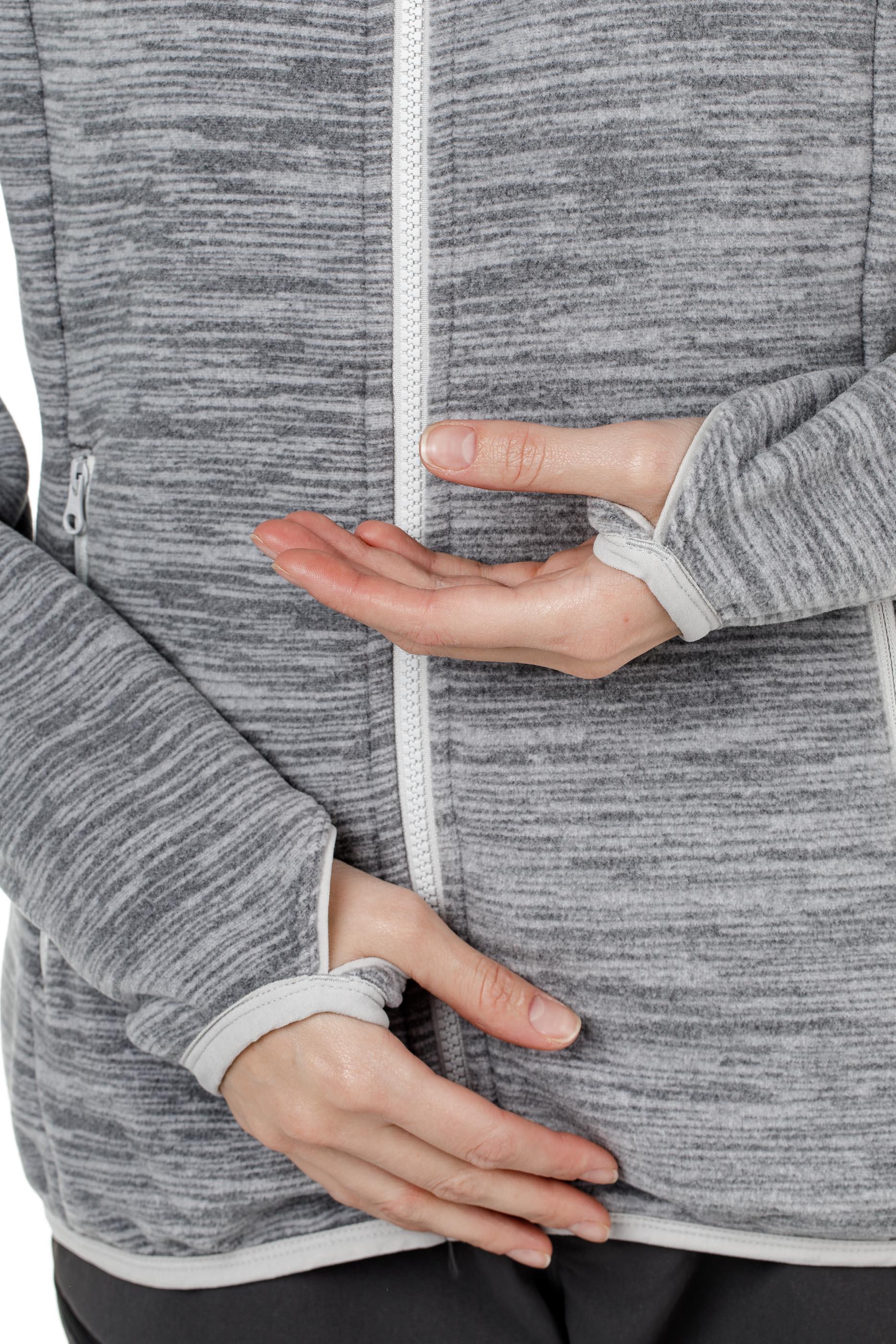 Куртка женская флисовая HAREID NOHOOD Bergans — фото 11