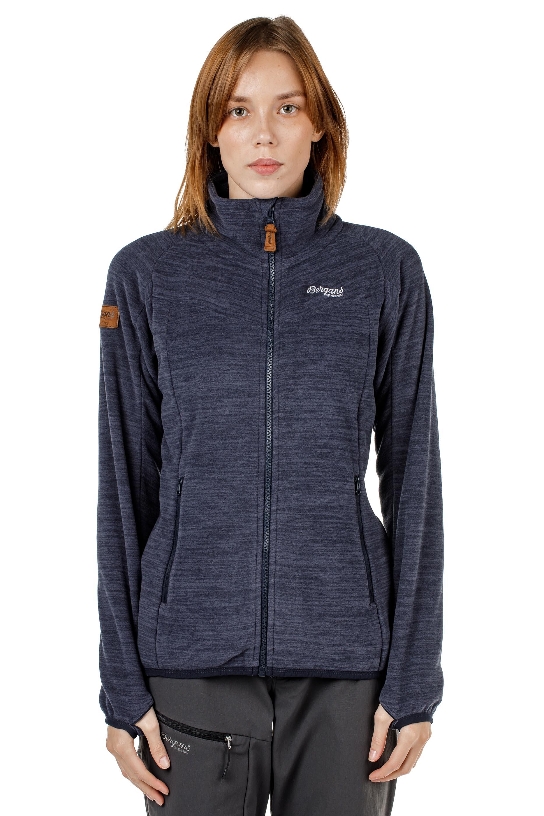 Куртка женская флисовая HAREID NOHOOD Bergans — фото 4