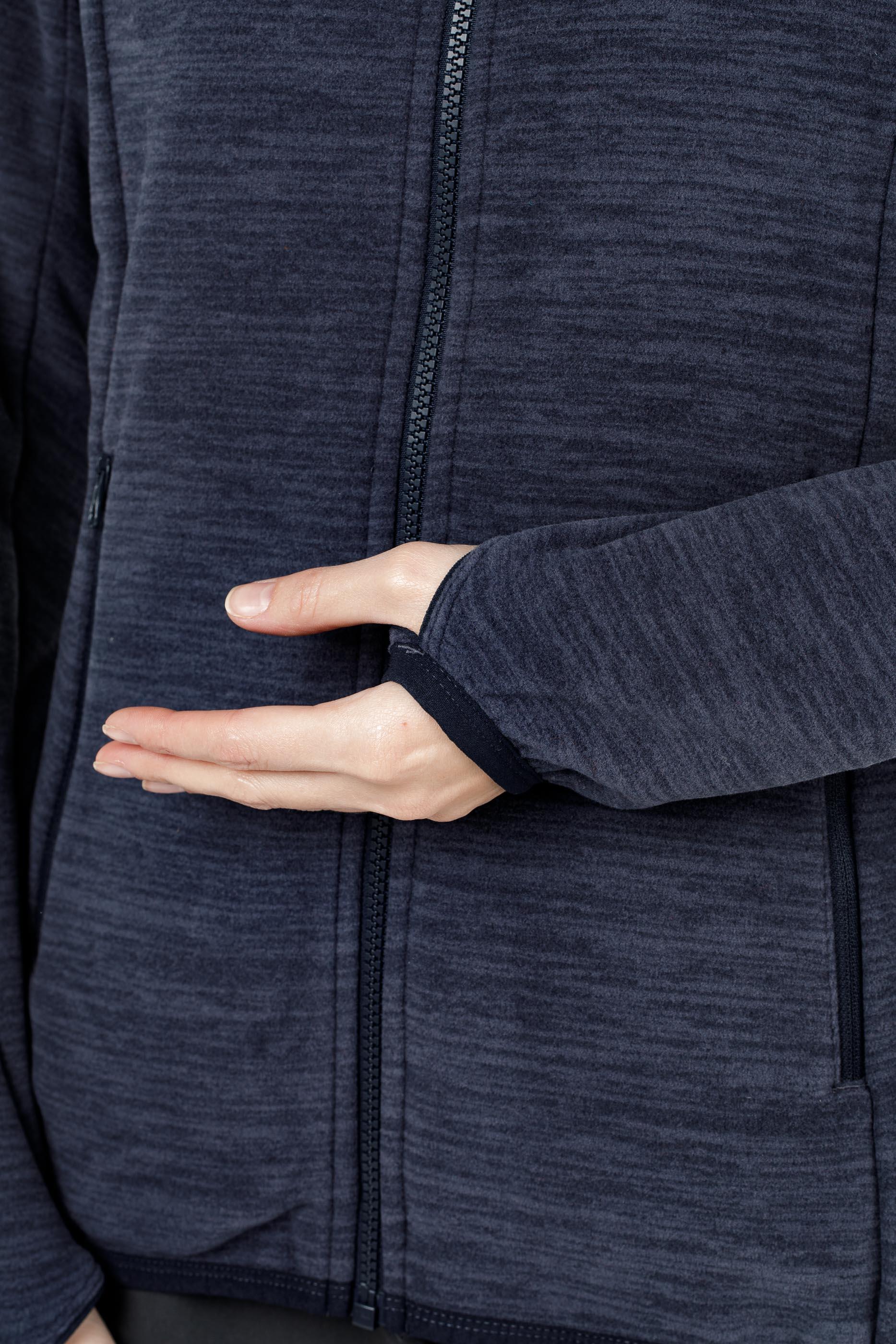 Куртка женская флисовая HAREID NOHOOD Bergans — фото 7