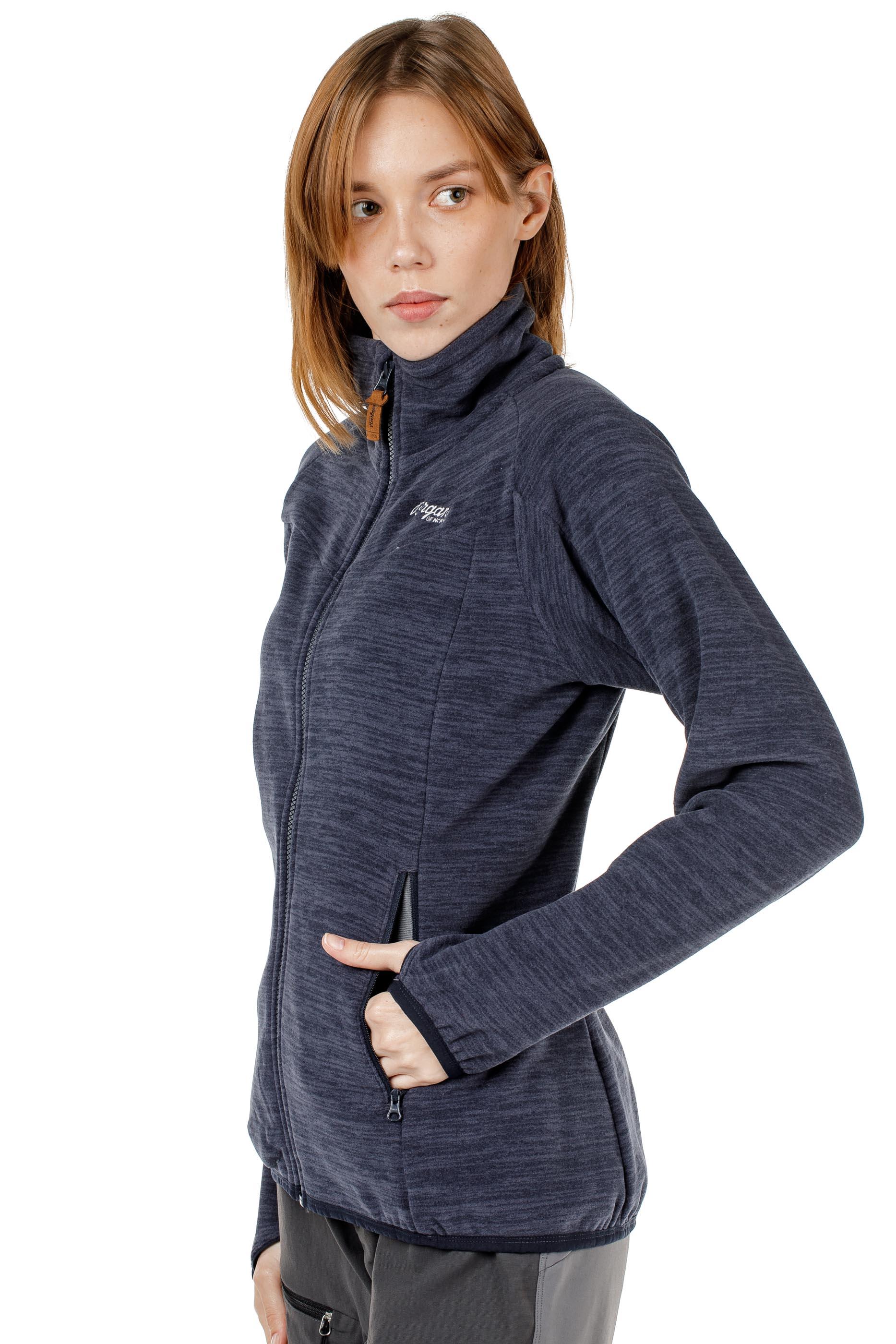Куртка женская флисовая HAREID NOHOOD Bergans — фото 5
