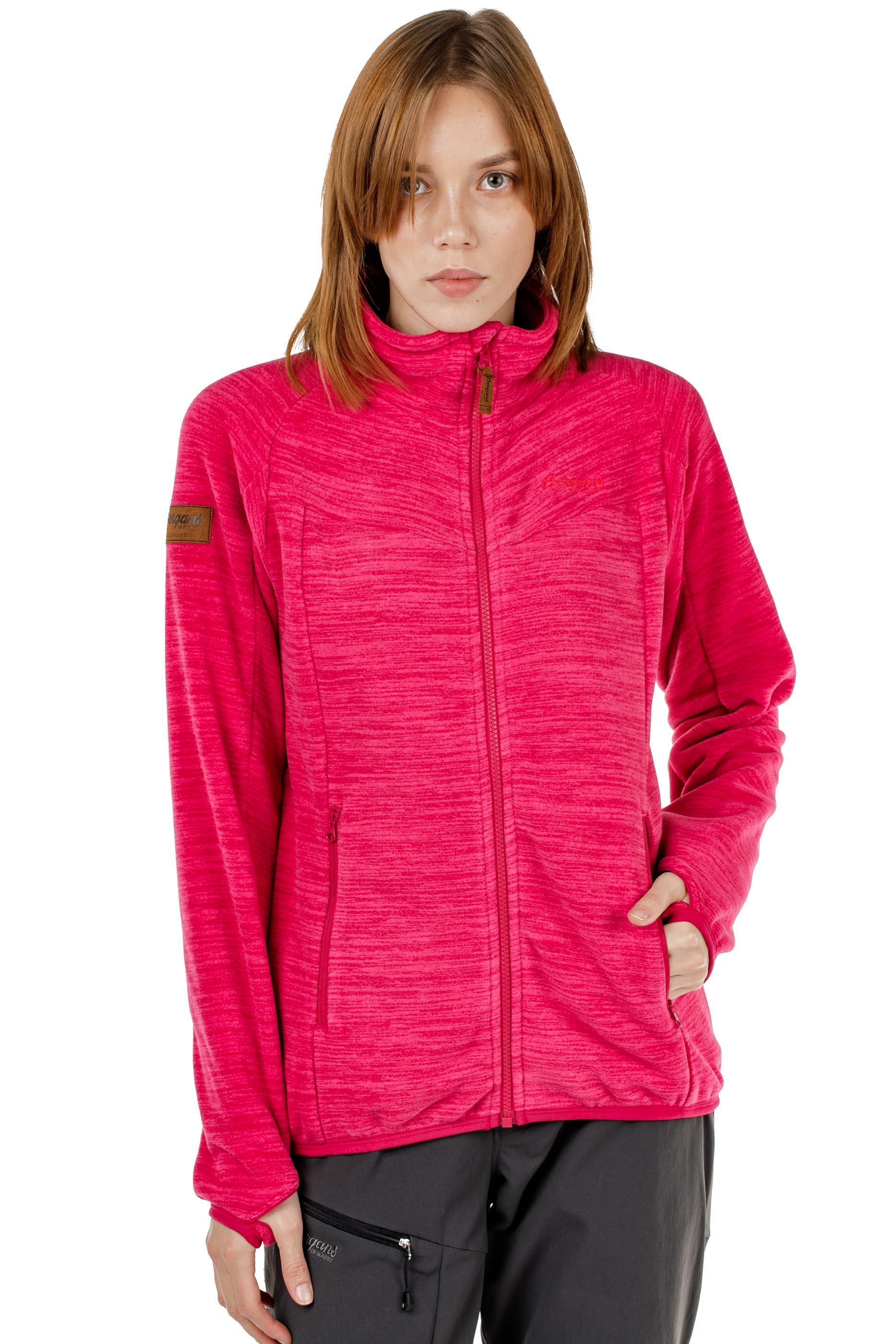 Куртка женская флисовая HAREID NOHOOD Bergans — фото 13