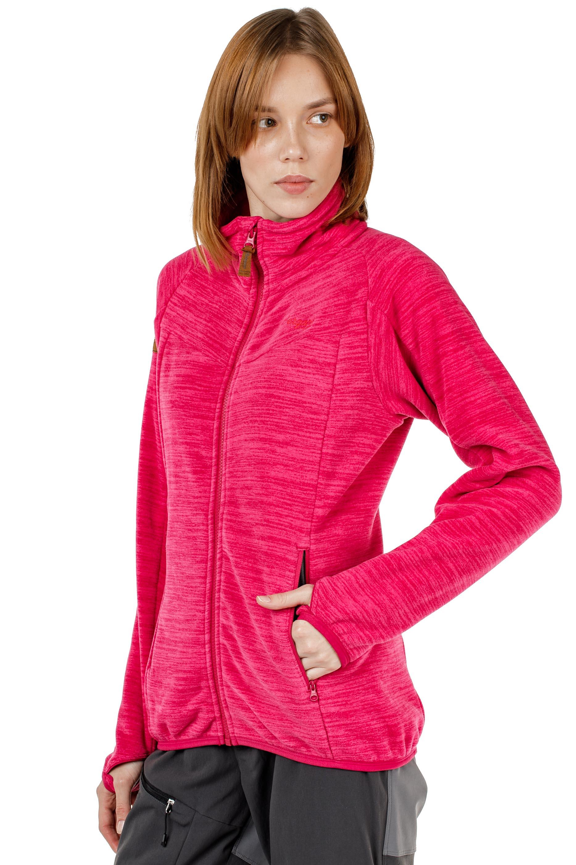 Куртка женская флисовая HAREID NOHOOD Bergans — фото 14