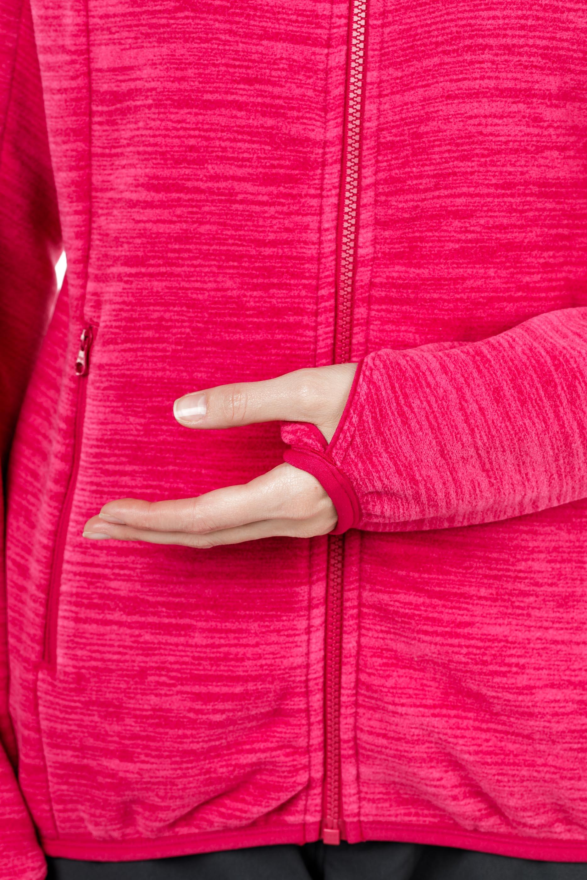 Куртка женская флисовая HAREID NOHOOD Bergans — фото 16