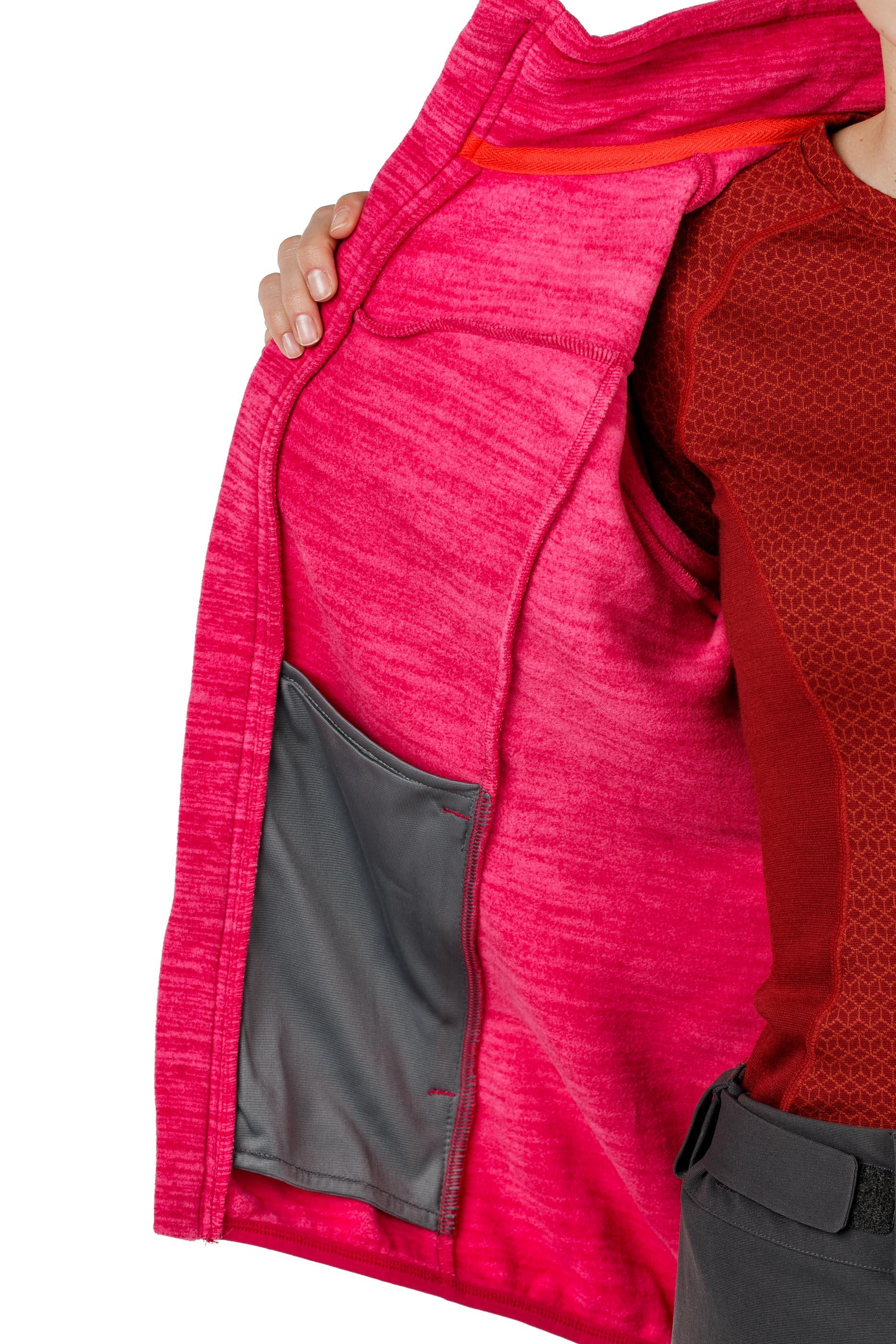 Куртка женская флисовая HAREID NOHOOD Bergans — фото 17