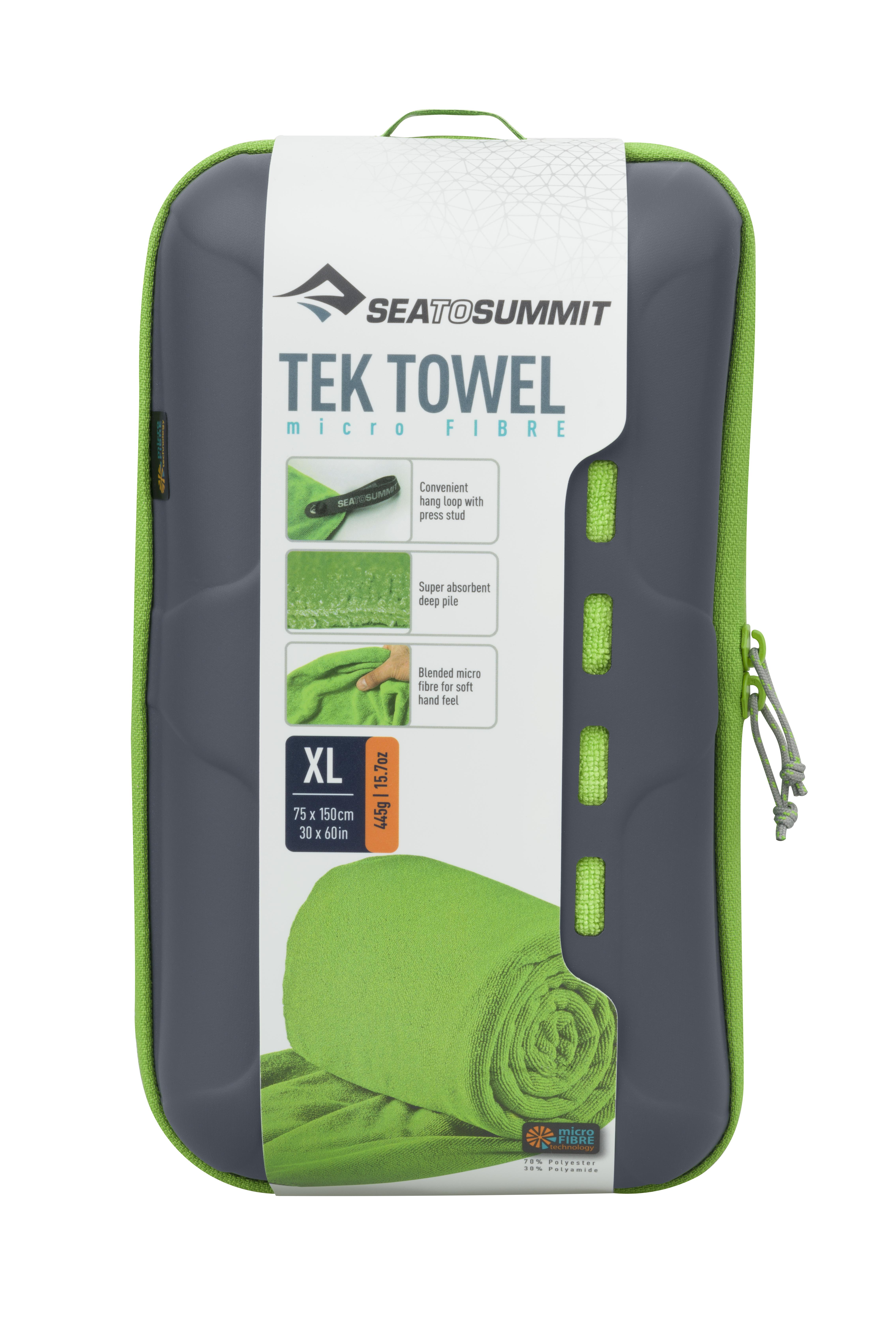 Полотенце Tek Towel 75cm x150cm Sea To Summit — фото 3