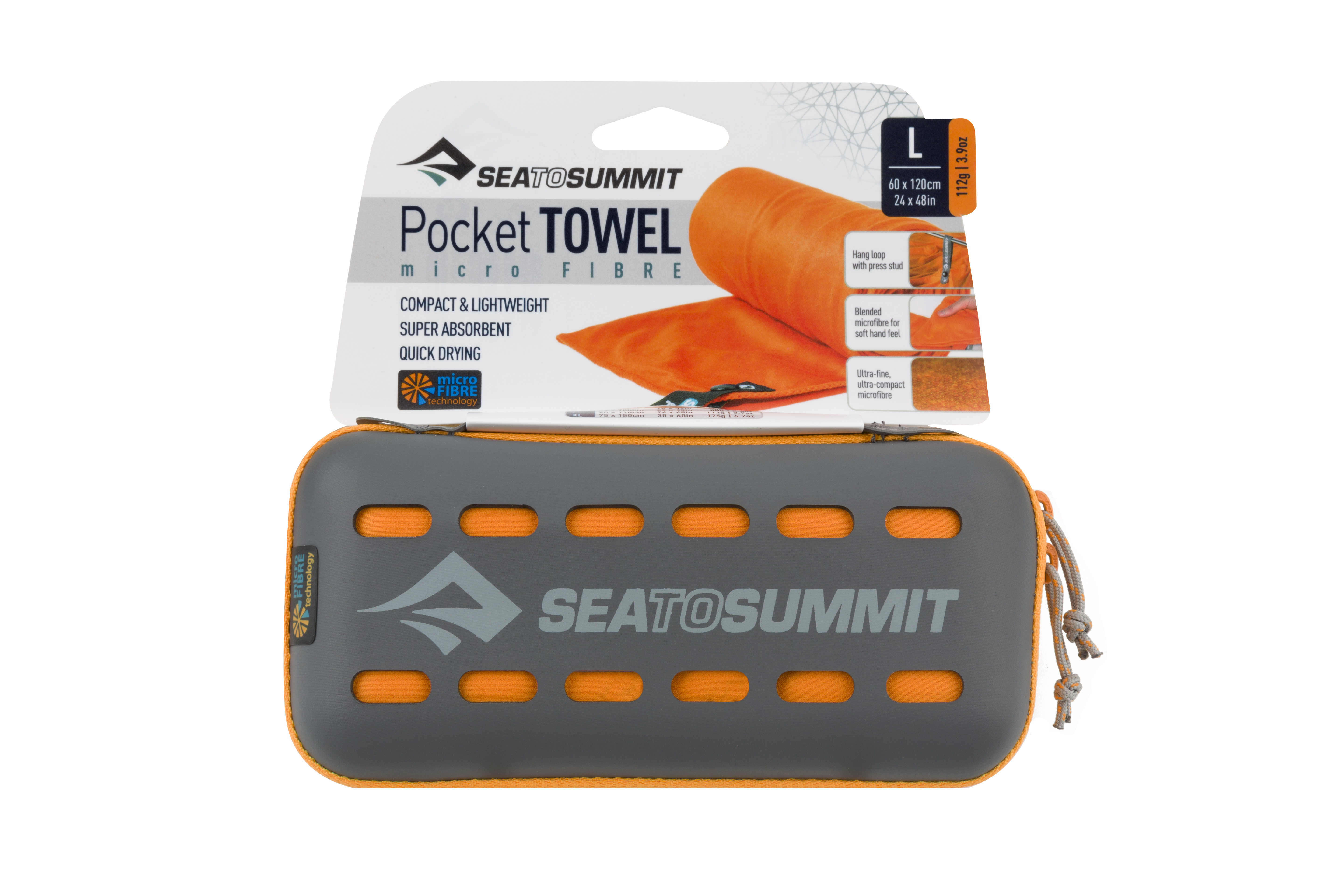 Полотенце Pocket Towel Sea To Summit — фото 4