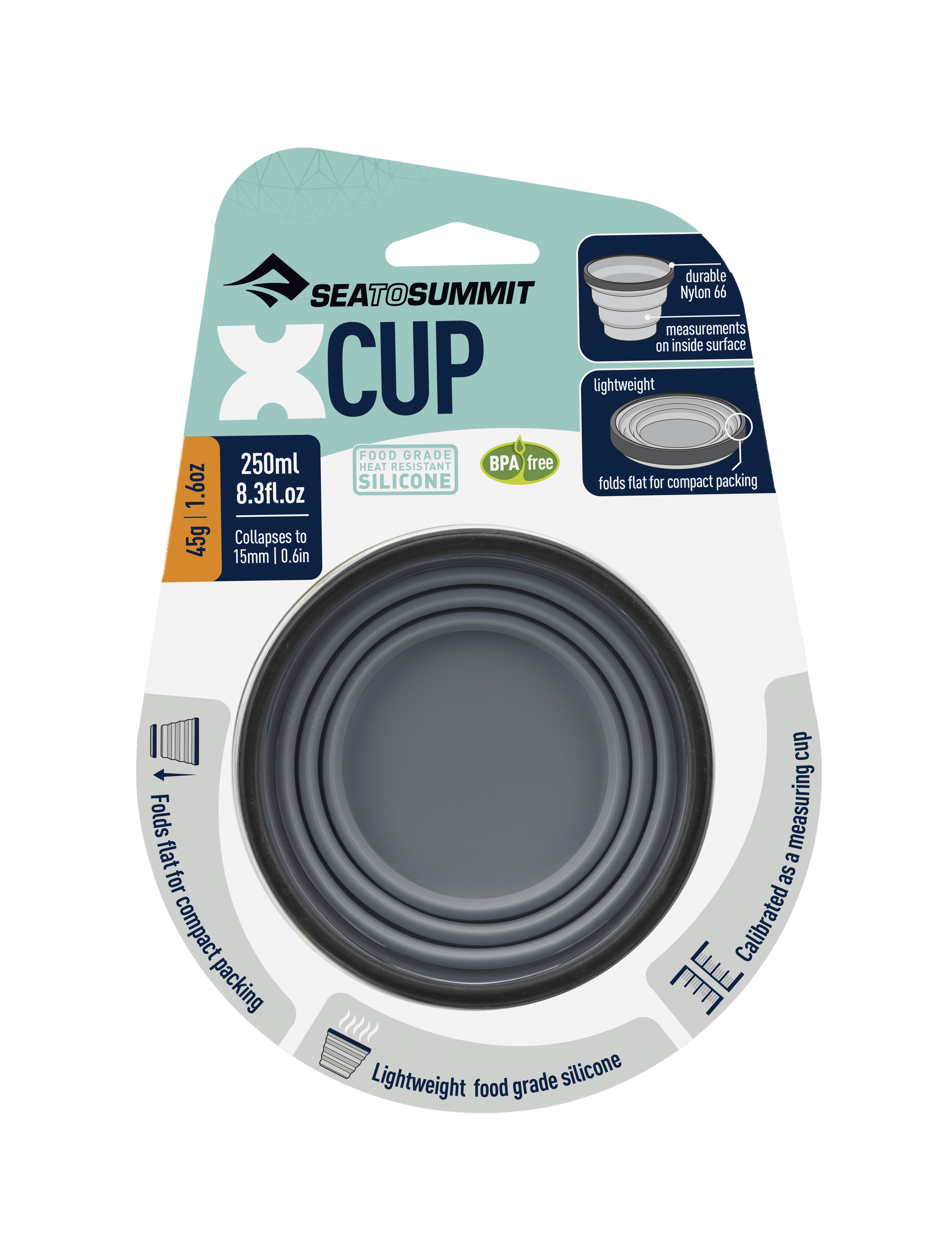Чашка складная X-Cup Sea To Summit — фото 4