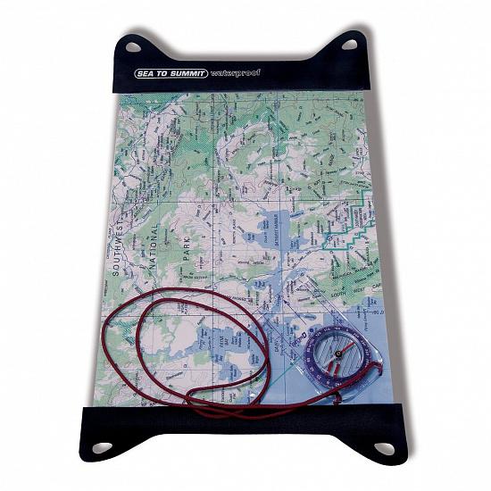 Гермочехол TPU Guide Map Case Clear Sea To Summit — фото 2
