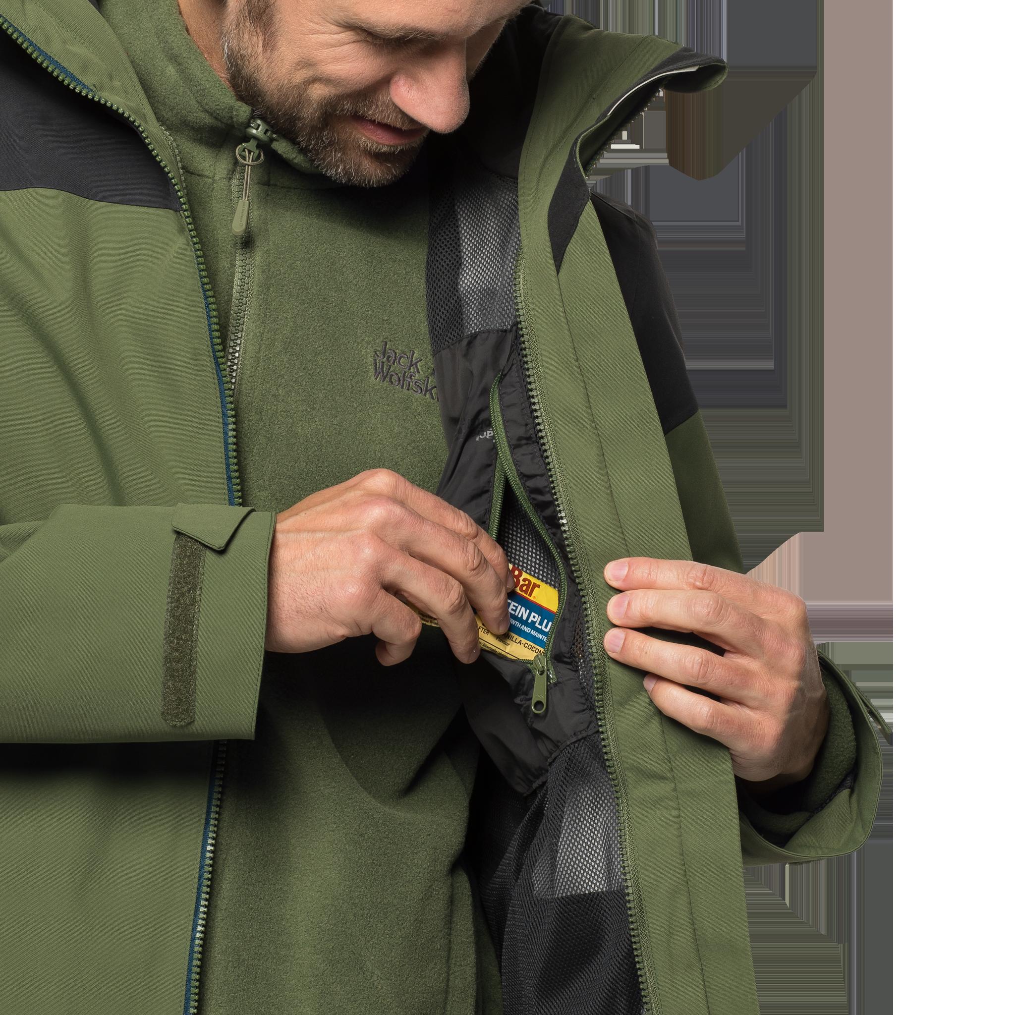 Куртка мужская MOUNT BENSON Jack Wolfskin — фото 9