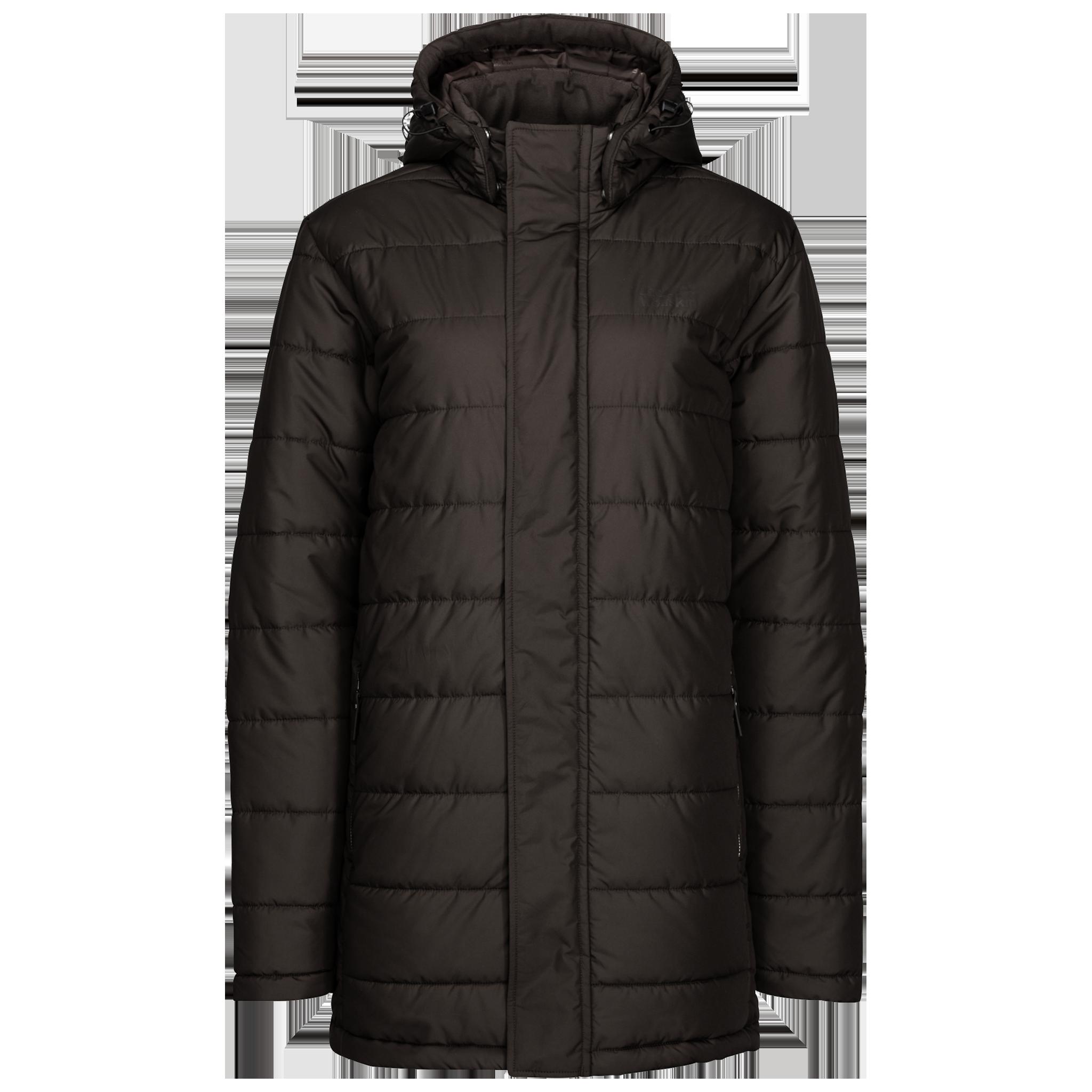 Куртка мужская SVALBARD COAT темно-коричневый Jack Wolfskin — фото 1