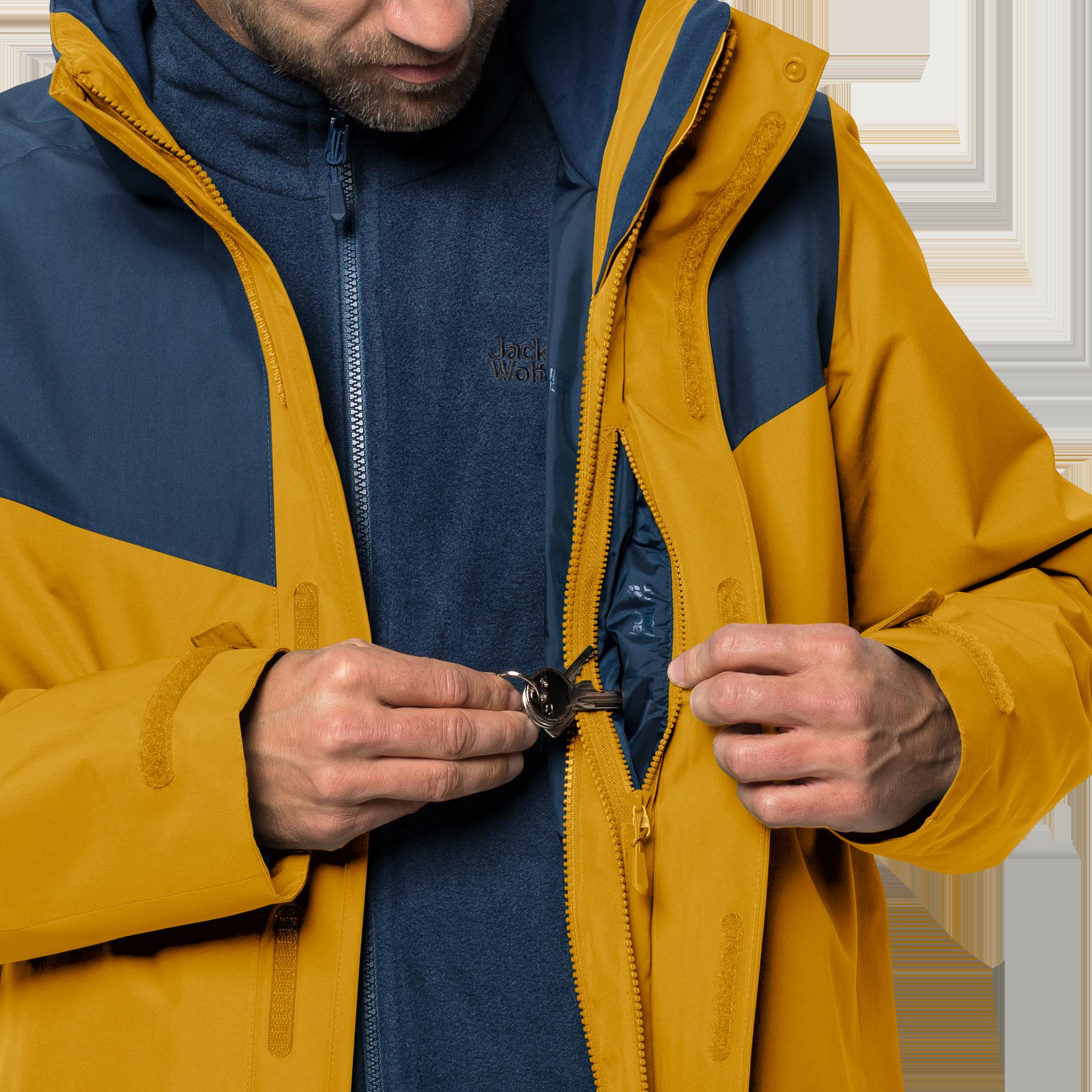 Куртка мужская ARLAND 3IN1 Jack Wolfskin — фото 7