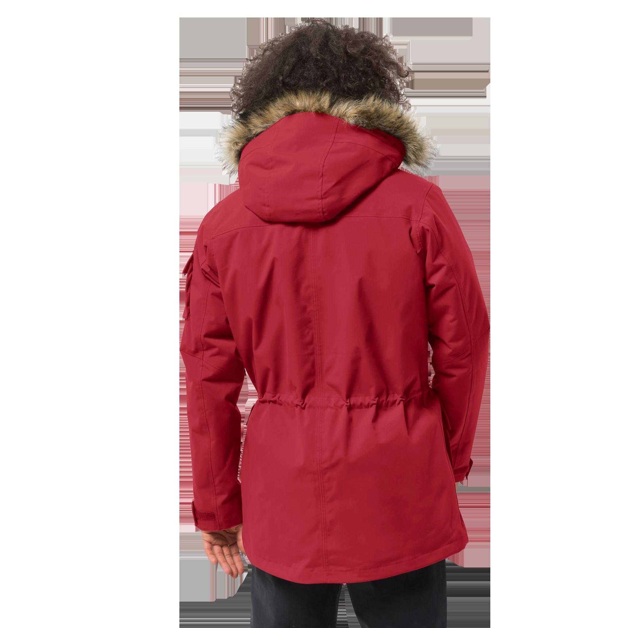 Куртка мужская GLACIER CANYON PARKA красный Jack Wolfskin — фото 3