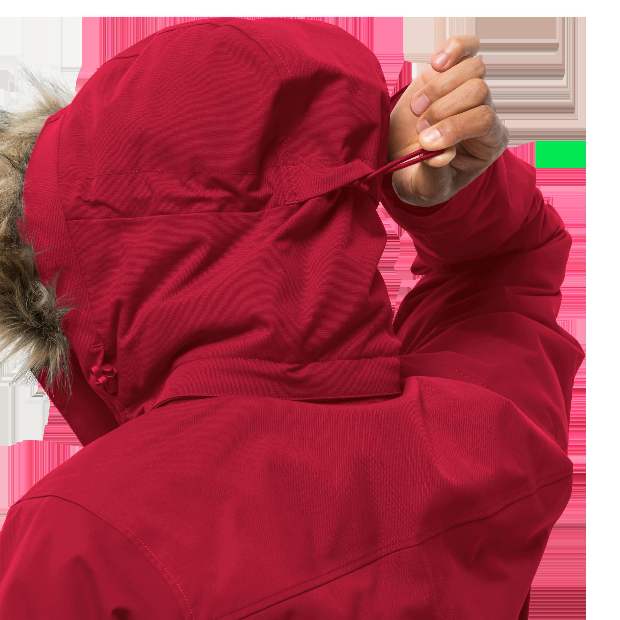 Куртка мужская GLACIER CANYON PARKA красный Jack Wolfskin — фото 5