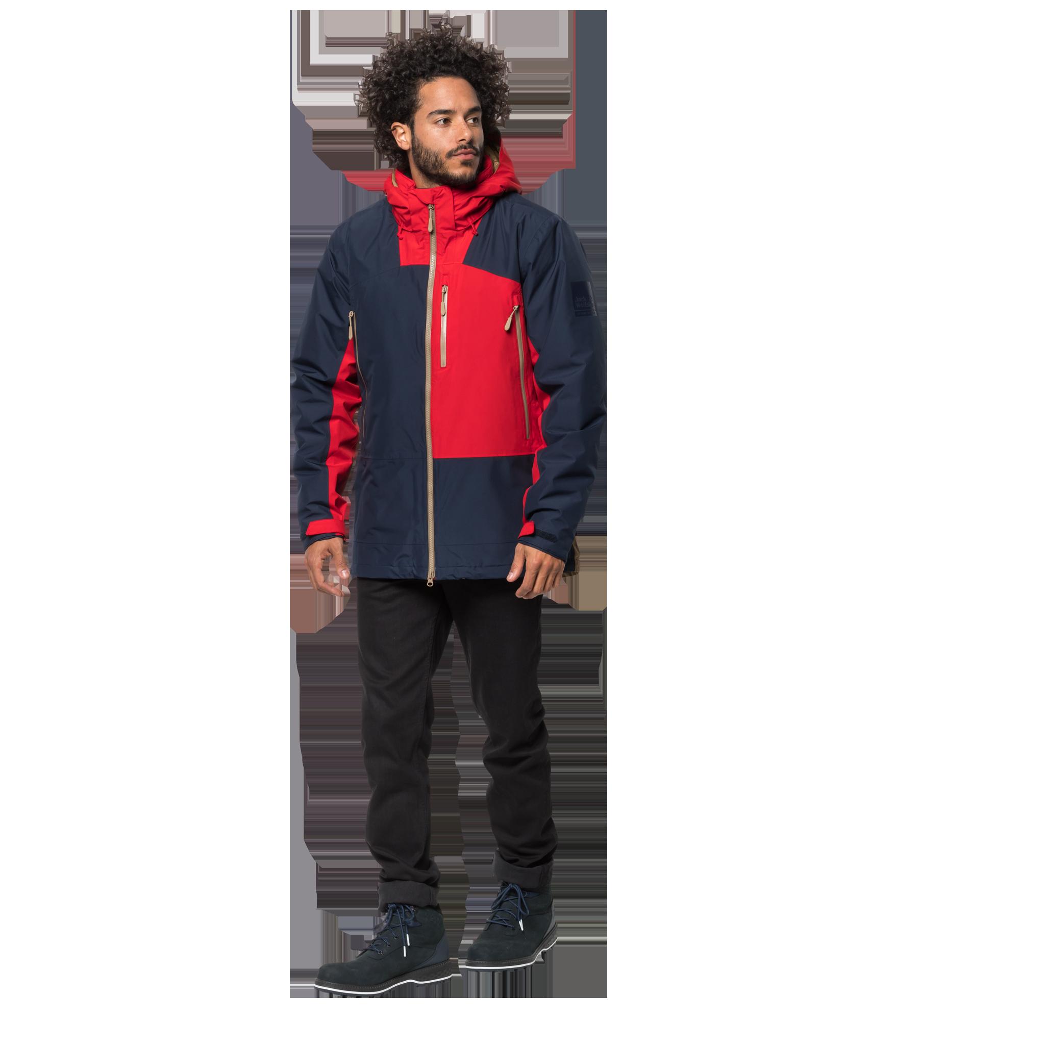 Куртка мужская 365 ONTHE MOVE синий/красный Jack Wolfskin — фото 2