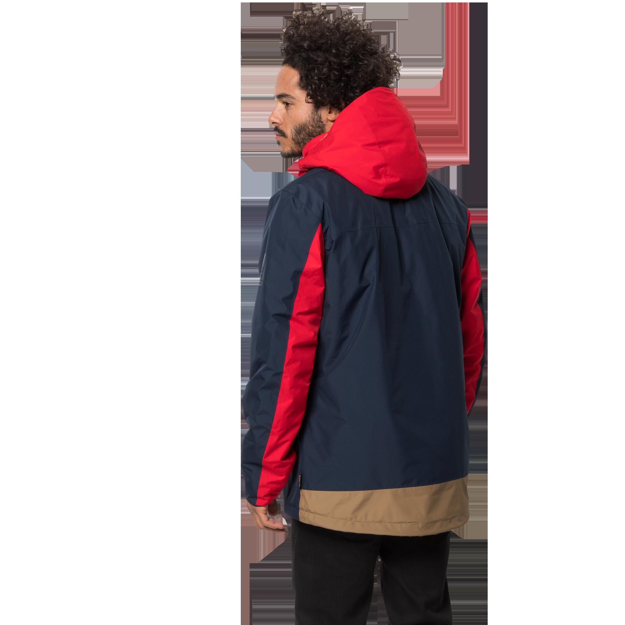 Куртка мужская 365 ONTHE MOVE синий/красный Jack Wolfskin — фото 3