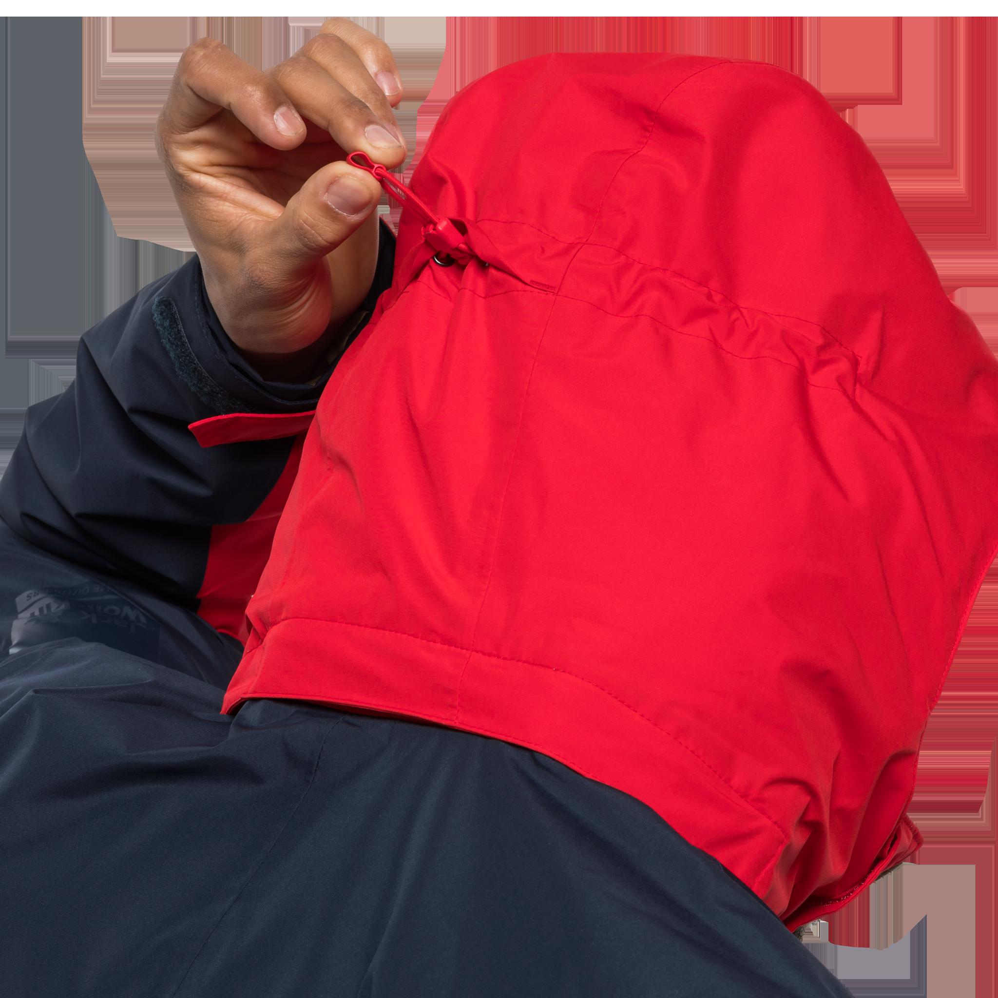 Куртка мужская 365 ONTHE MOVE синий/красный Jack Wolfskin — фото 5