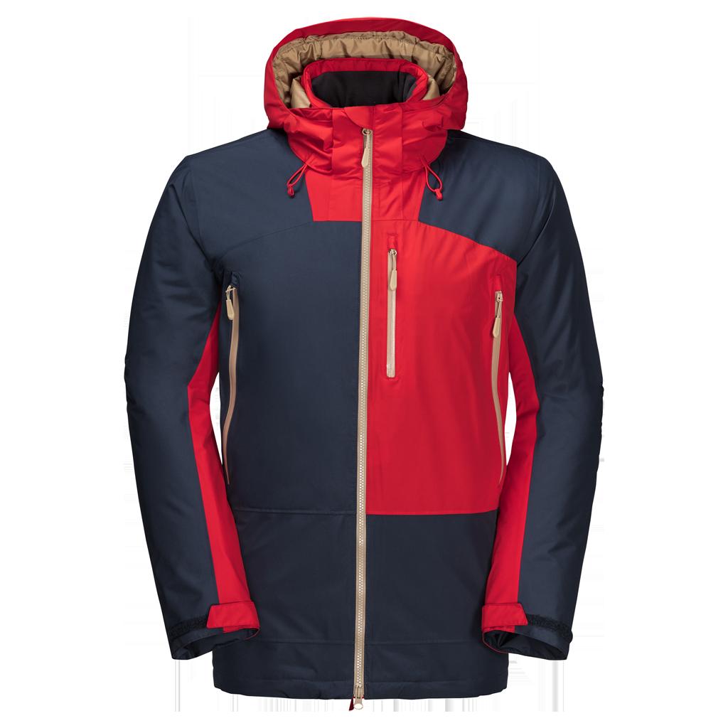 Куртка мужская 365 ONTHE MOVE синий/красный Jack Wolfskin — фото 1
