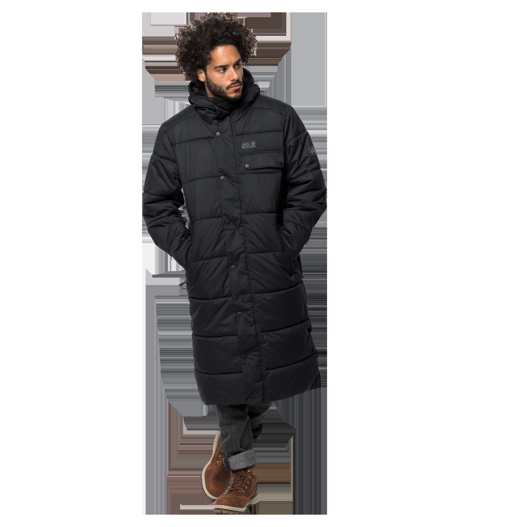 Куртка мужская KYOTO COAT черный Jack Wolfskin — фото 2