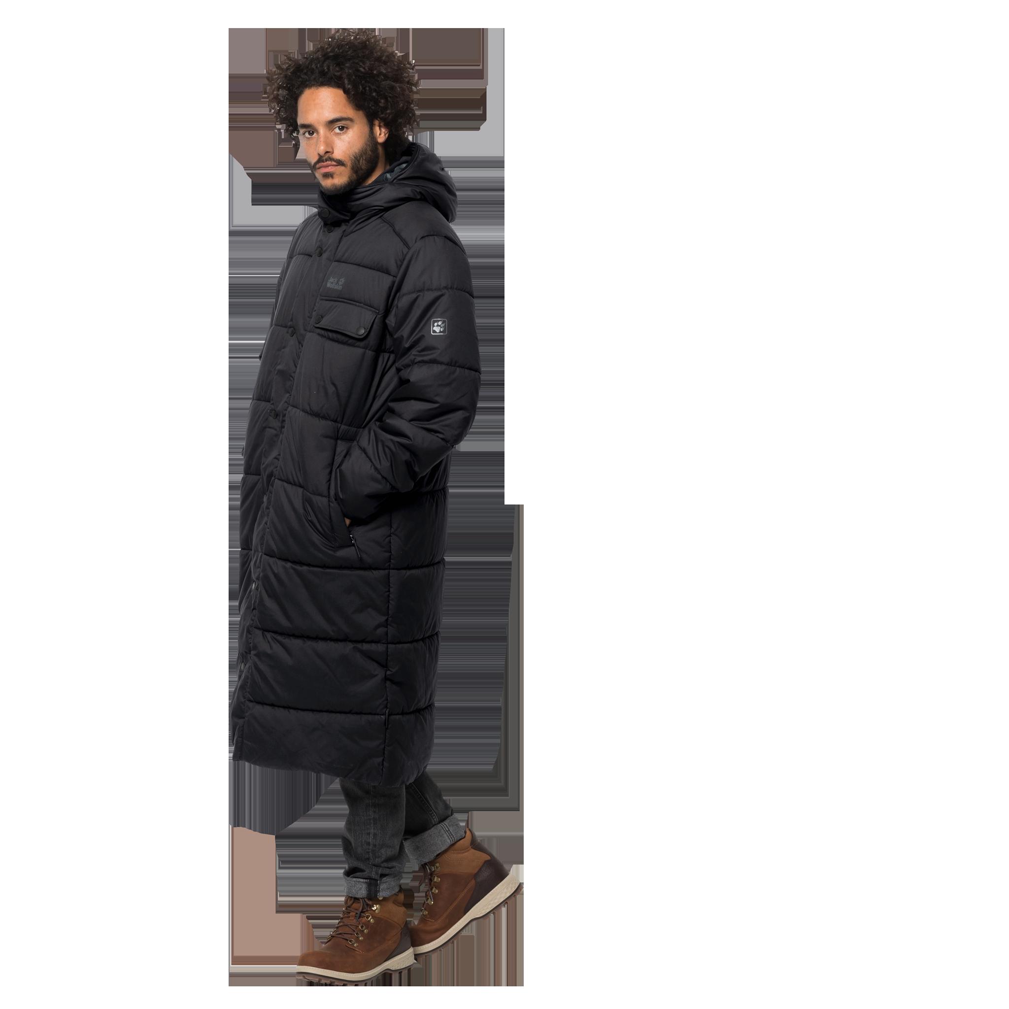 Куртка мужская KYOTO COAT черный Jack Wolfskin — фото 4