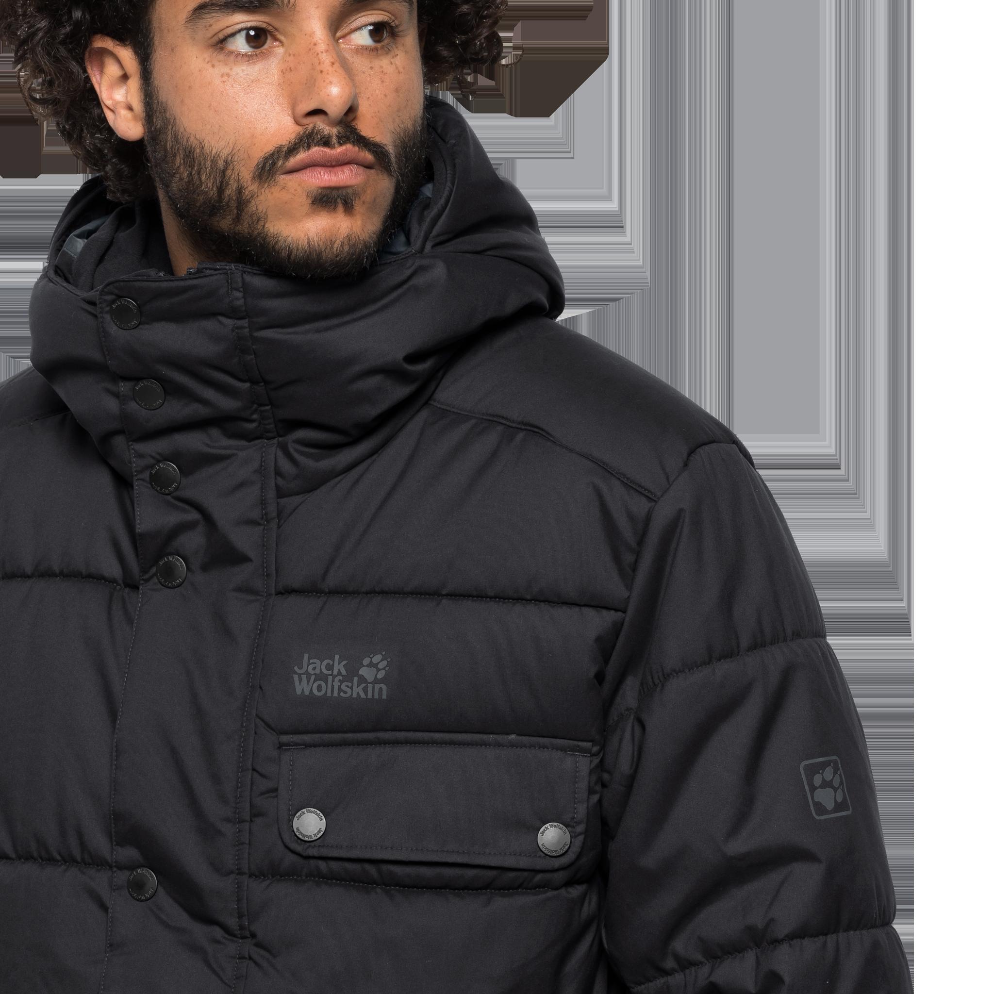 Куртка мужская KYOTO COAT черный Jack Wolfskin — фото 5
