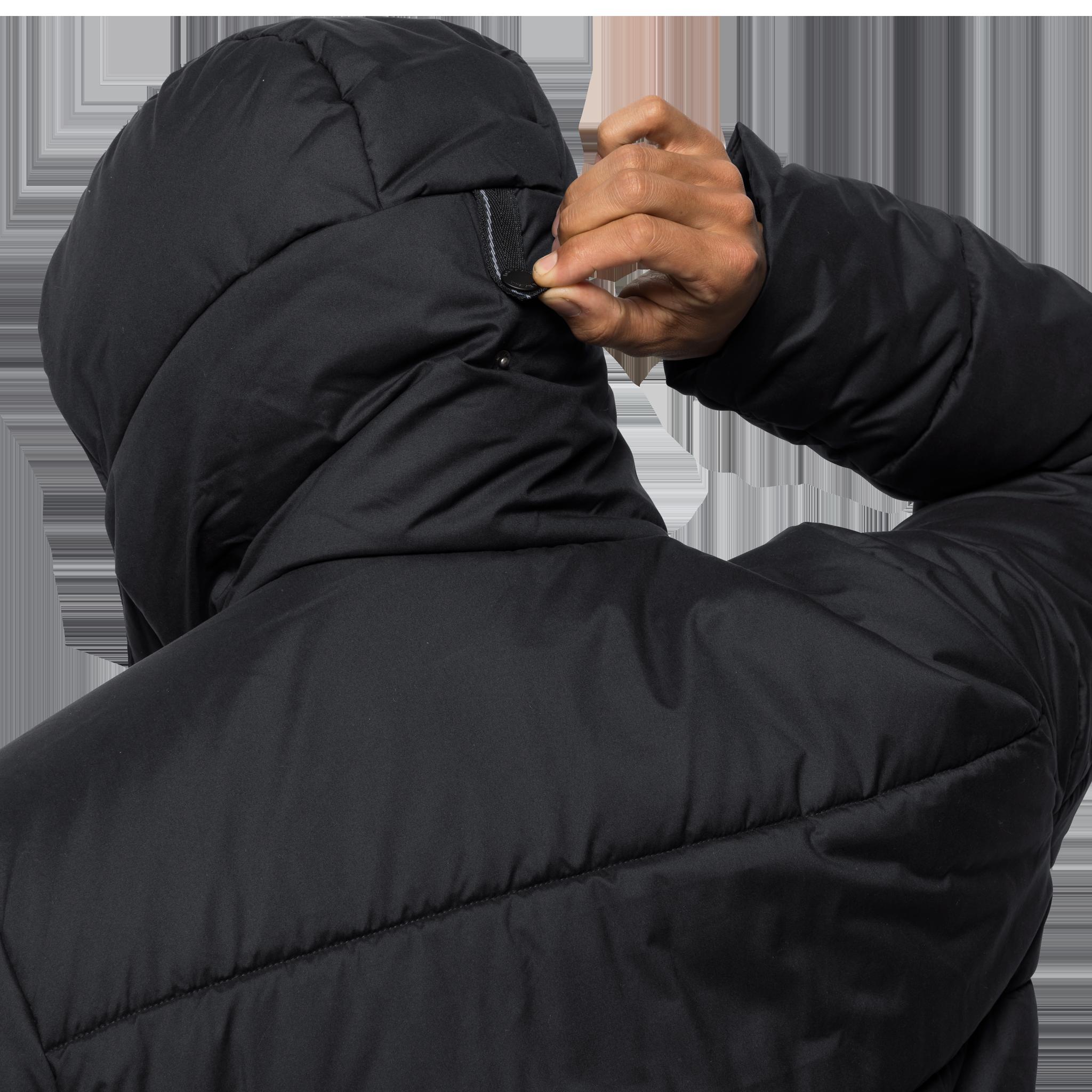 Куртка мужская KYOTO COAT черный Jack Wolfskin — фото 6