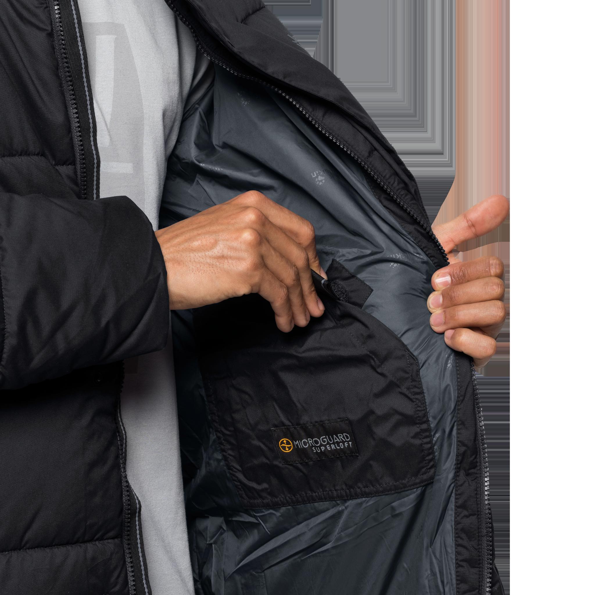 Куртка мужская KYOTO COAT черный Jack Wolfskin — фото 7