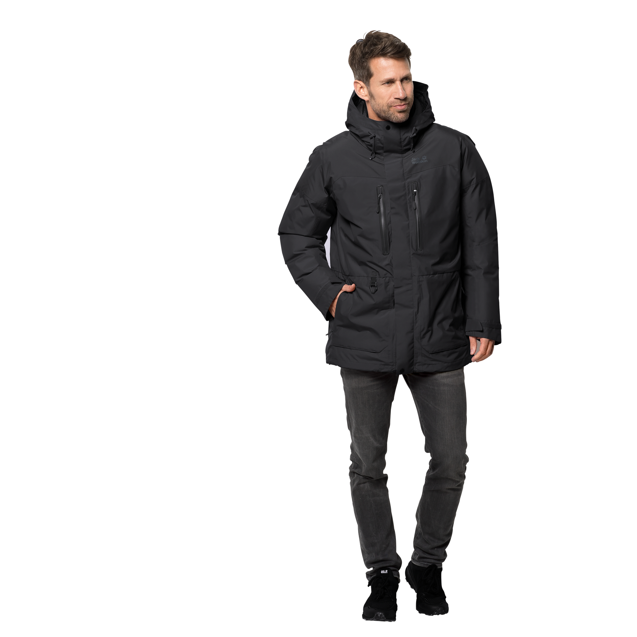 Куртка мужская NORTH ICE PARKA Jack Wolfskin — фото 2