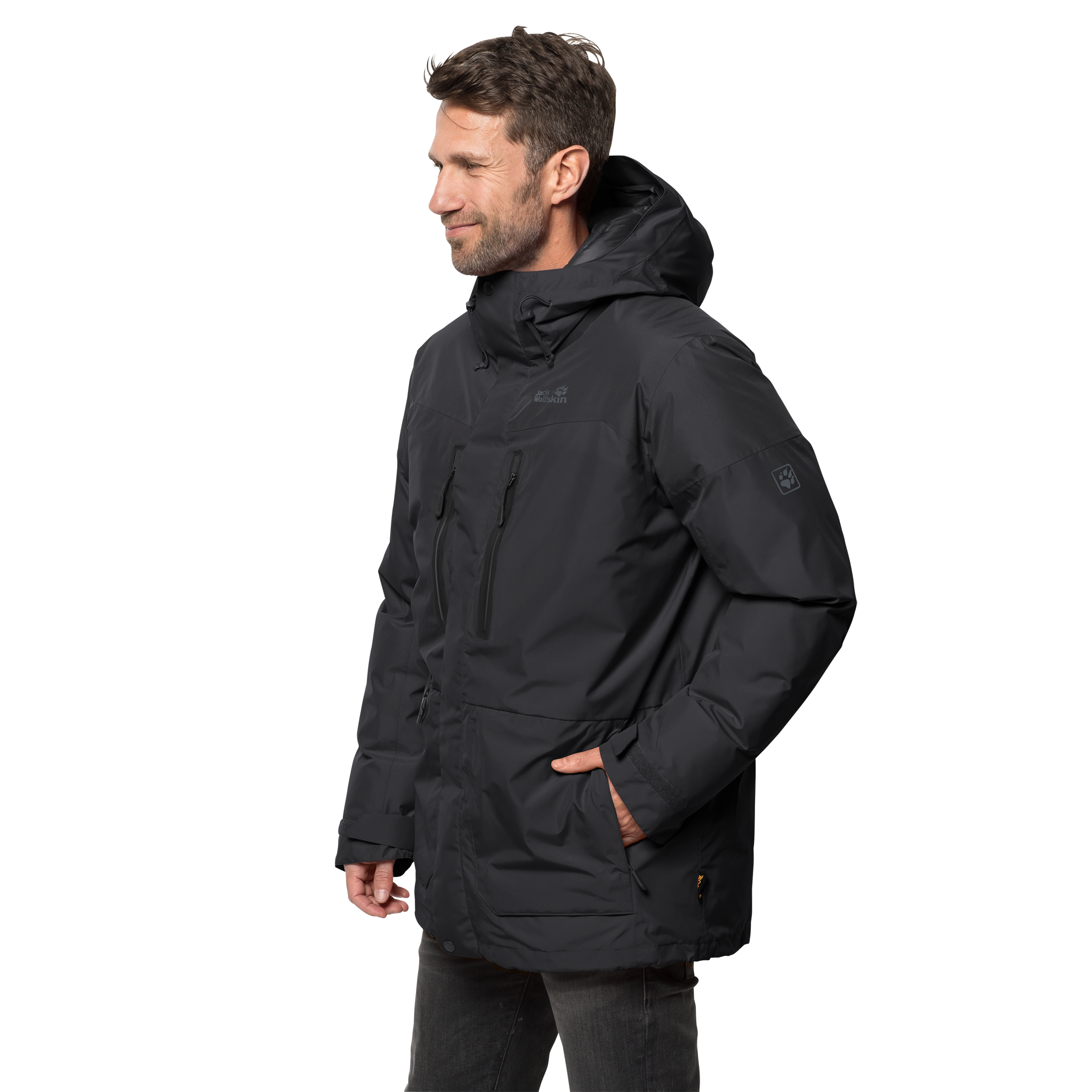 Куртка мужская NORTH ICE PARKA Jack Wolfskin — фото 4