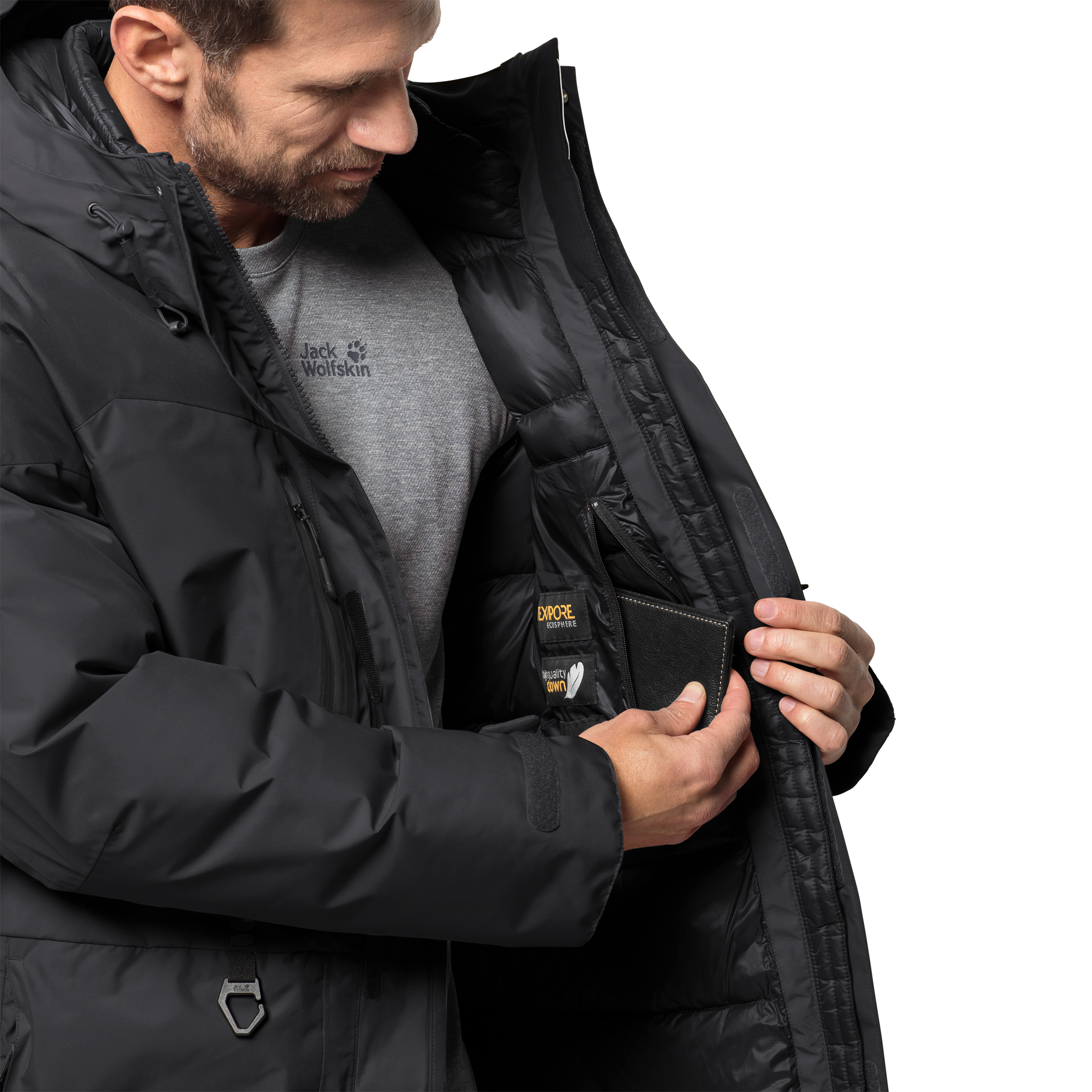 Куртка мужская NORTH ICE PARKA Jack Wolfskin — фото 5